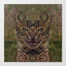 Devil's Cat Canvas Print