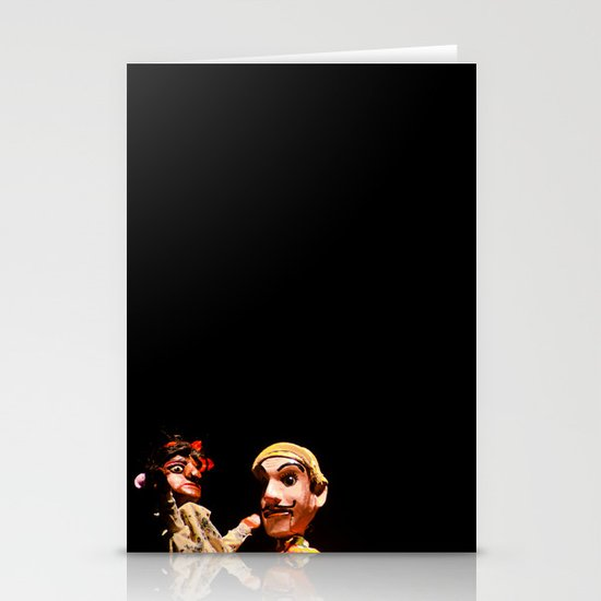 Puppets Stationery Card