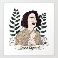 Twin Peaks (David Lynch) Donna Hayward Art Print
