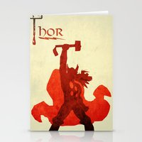 The Avengers Thor Stationery Cards