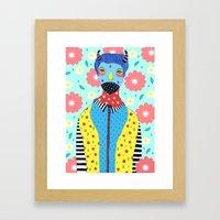 Make Me Colourful Framed Art Print