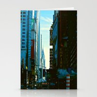 Busy City Stationery Cards