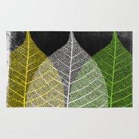 'Natural Dry Leaves' Rug