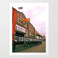 Art Print featuring Dawson's Bar & Grill by Vorona Photography