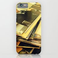 Old Blue Eyes and LPs iPhone 6 Slim Case