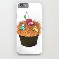 iPhone & iPod Case featuring Hairy Cupcake by Elizabeth Cakovan