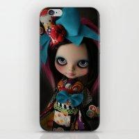 MODERN GEISHA CUSTOM BLYTHE DOLL KENNER  iPhone & iPod Skin
