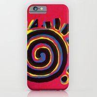 iPhone & iPod Case featuring Indigenous Sun by Msimioni
