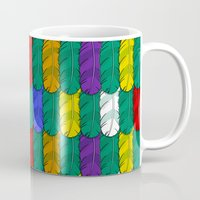 Feathers Pattern Mug