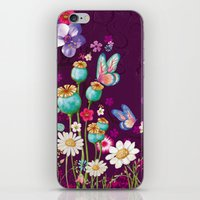 Purple Meadow iPhone & iPod Skin