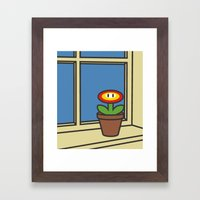 Oh Peach, I Roam My Roam Framed Art Print