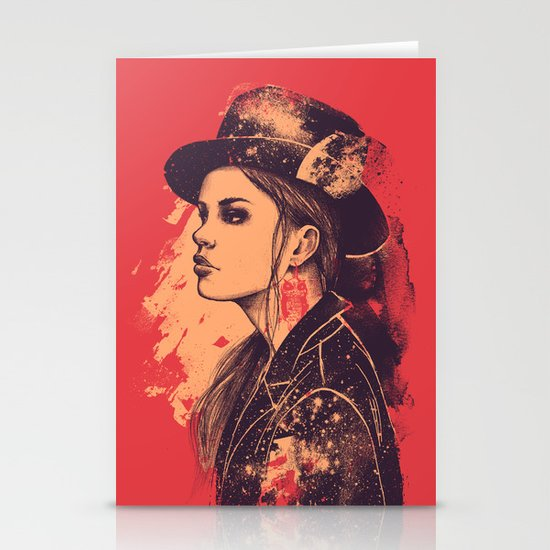 NOCTURNA Stationery Card
