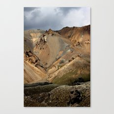 Mountains of Iceland Canvas Print