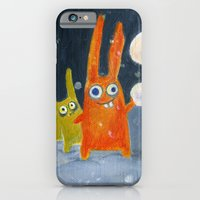 iPhone & iPod Case featuring snowballs by Marianna Tankelevich