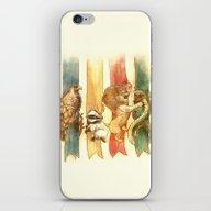 House Brawl iPhone & iPod Skin