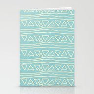 Blue Scribbles 05 Stationery Cards