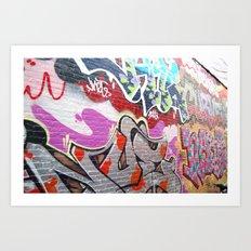 graffiti3 Art Print