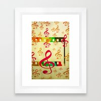 Design 2 Framed Art Print