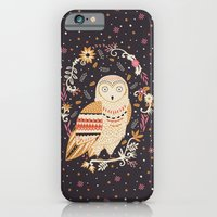 iPhone & iPod Case featuring Snowy Owl by Poppy & Red