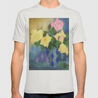 Edith Drummond Mens Fitted Tee Silver SMALL