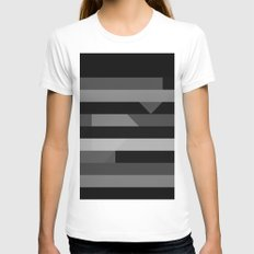 New Womens Fitted Tee White SMALL