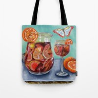 Sangria Summer Tote Bag