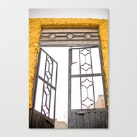Canvas Print featuring Door by Jaime Lynn Photography