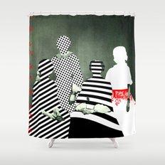 Fragmented Memories Shower Curtain