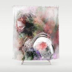 Winter Soldier Shower Curtain
