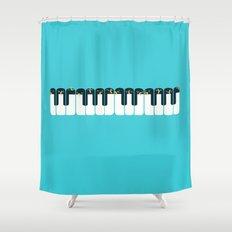 The Choir of Antarctica Shower Curtain