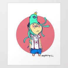Octopi Head Art Print