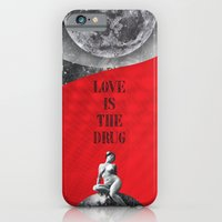 iPhone & iPod Case featuring Love is the drug (Rocking Love series) by Antigoni Chryssanthopoulou - inogitna