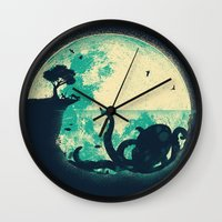The Big One Wall Clock