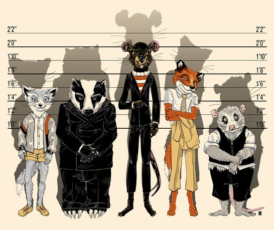 Unusual Suspects Art Print