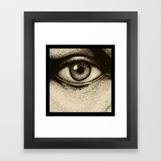 Eye Eye Framed Art Print