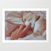 Love Bites Art Print