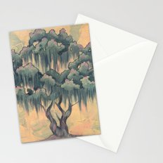 Crepe Myrtle Tree in Bloom Stationery Cards