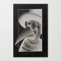 the doctor inverted Canvas Print
