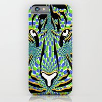 iPhone & iPod Case featuring tiger by Ashley James