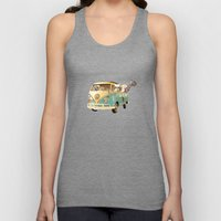 NEVER STOP EXPLORING THE BEACH Unisex Tank Top