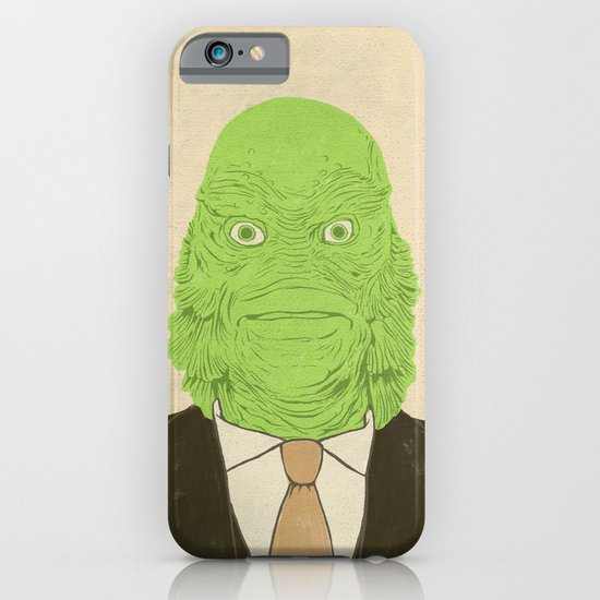 Young Professional from the Black Lagoon iPhone & iPod Case
