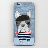 French Bulldog. (panoram… iPhone & iPod Skin