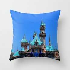 Disneyland. Throw Pillow