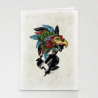 Upsilon Warrior Stationery Cards