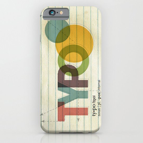 typo iPhone & iPod Case