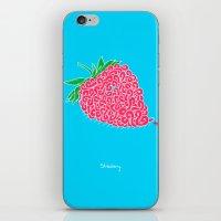 Strawberry. iPhone & iPod Skin