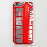 RED PHONE BOOTH iPhone 6 Slim Case