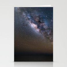 Milky Way Over The Gulf of Mexico Stationery Cards