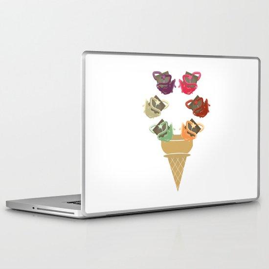 Chocolate Rippleboat Sundae  Laptop & iPad Skin