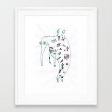 Tatoodle Framed Art Print